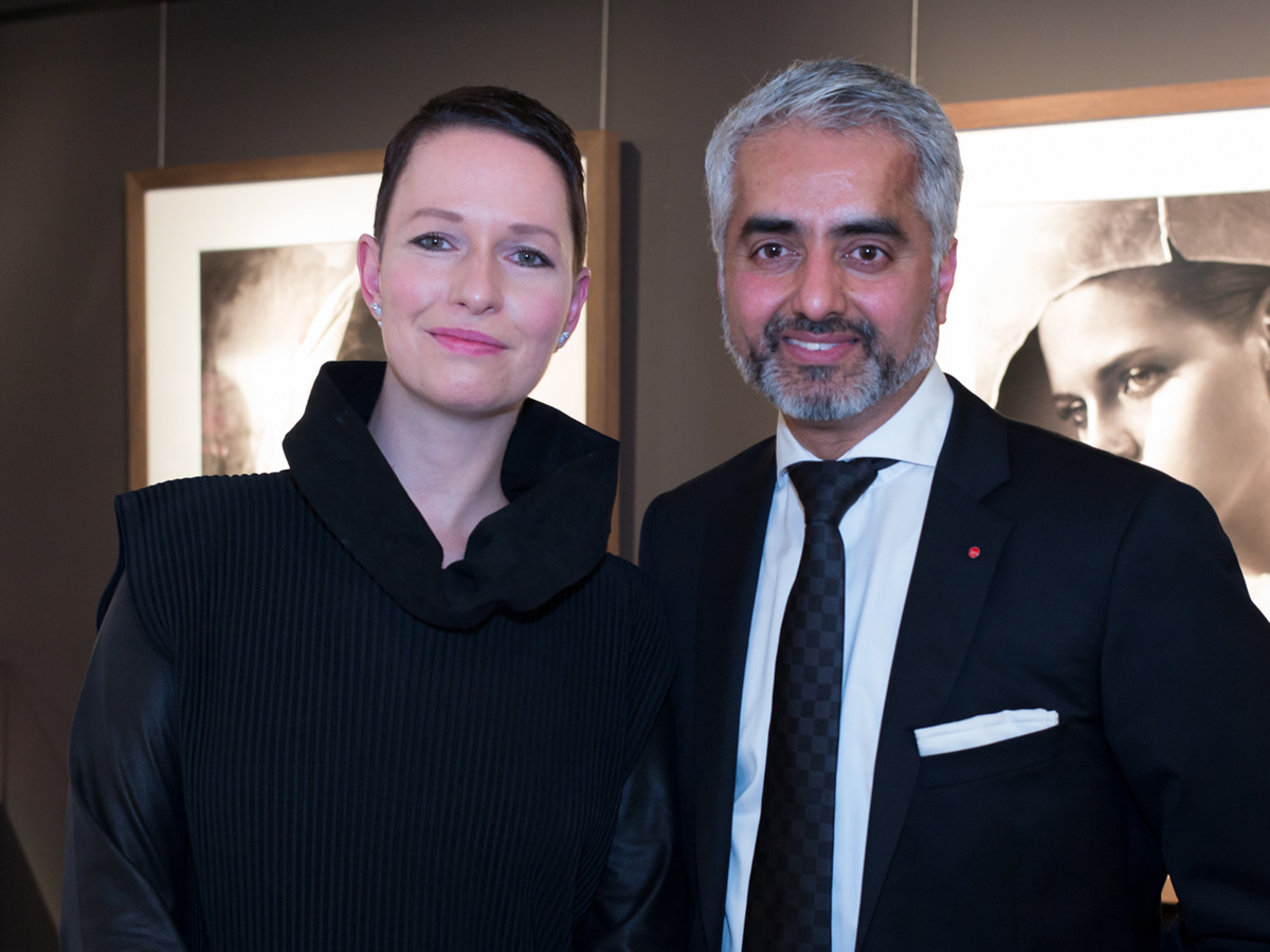 Opening of the Vincent Peters exhibition, Leica Store Frankfurt