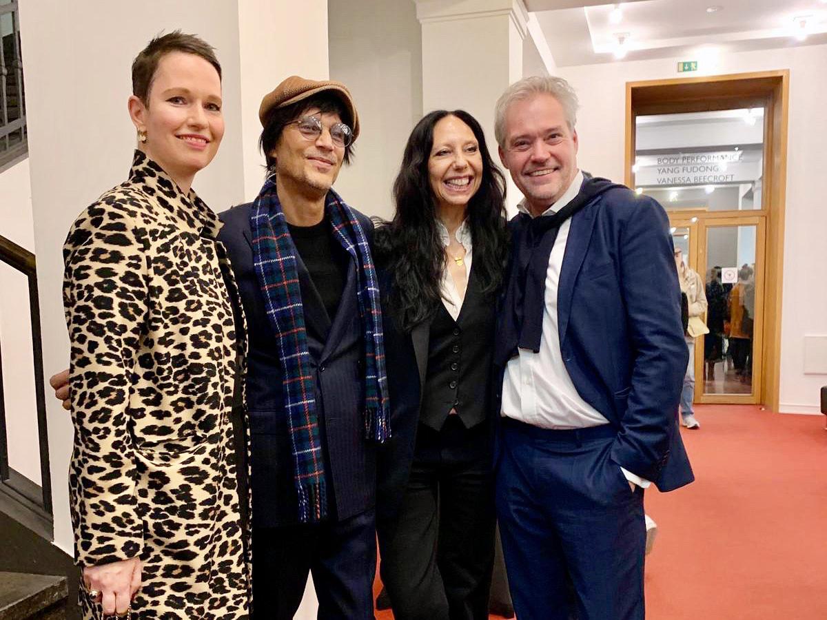 Mit Inez & Vinoodh und Matthias Harder, Helmut Newton Foundation