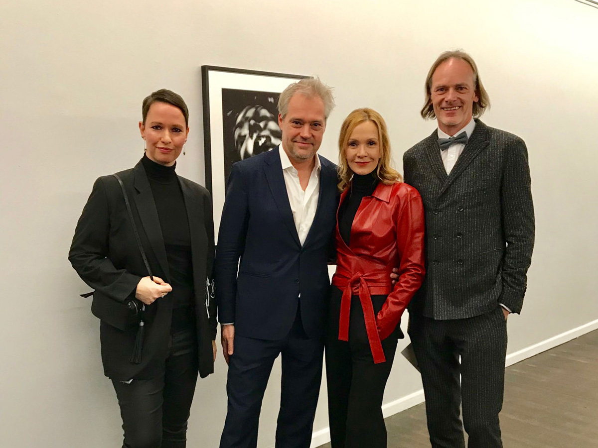 With Matthias Harder, Katja Flint and Uwe Neumann, Kunsthalle Rostock