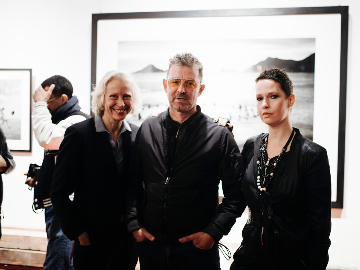 With Nadine Barth and Anatol Kotte, Berlin Photo Week opening
